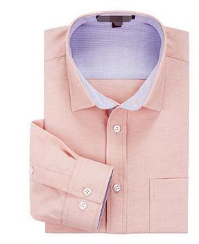 100% Cotton Oxford Plain Color Man's Slim Fit Long Sleeve Business Dress Shirt 4