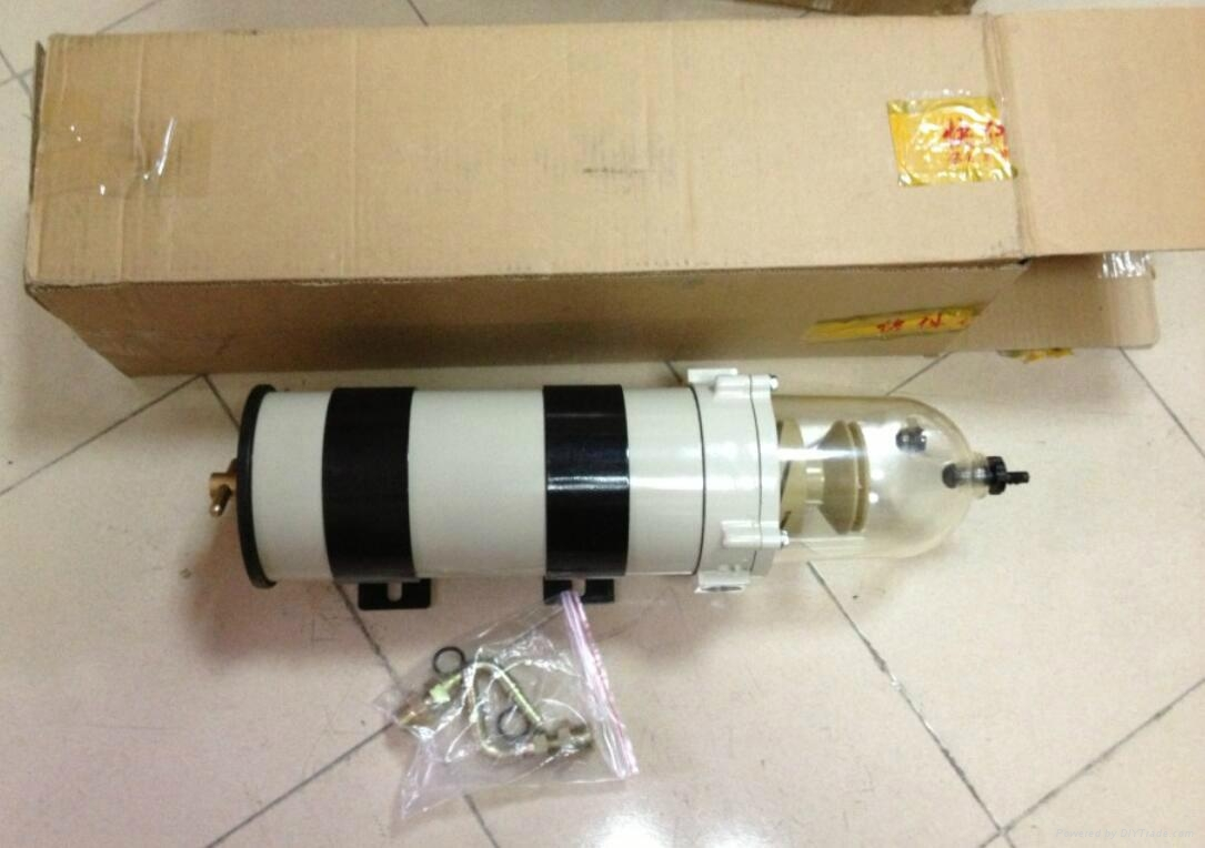 Diesel Engine Fuel Filter Assembly : Racor new fg fh diesel engine fuel water separator