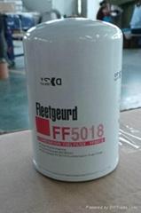 FF5018 Fleetguard fuel filter fuel water separator Donaldsonfilter Cumminus spin