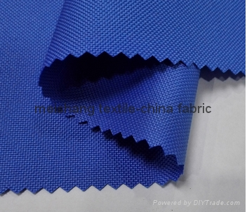 100% polyester oxford 600D PU coated fabric 1