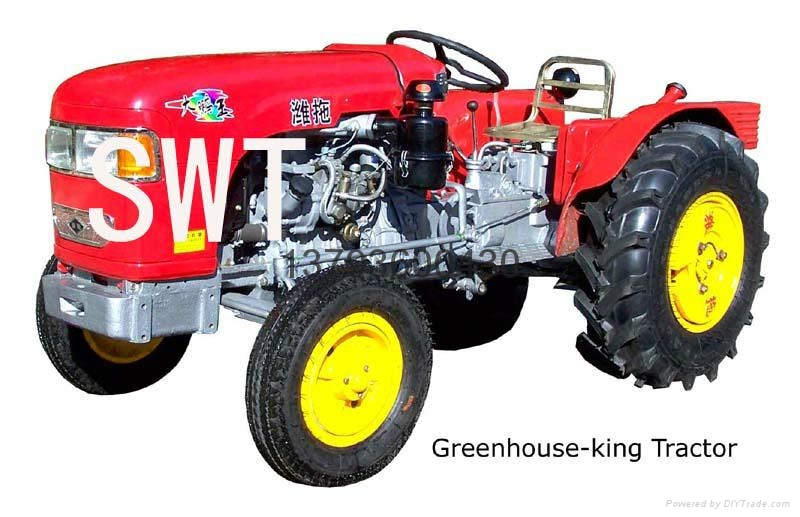weituo series greenhouse tractor 20-50hp 2