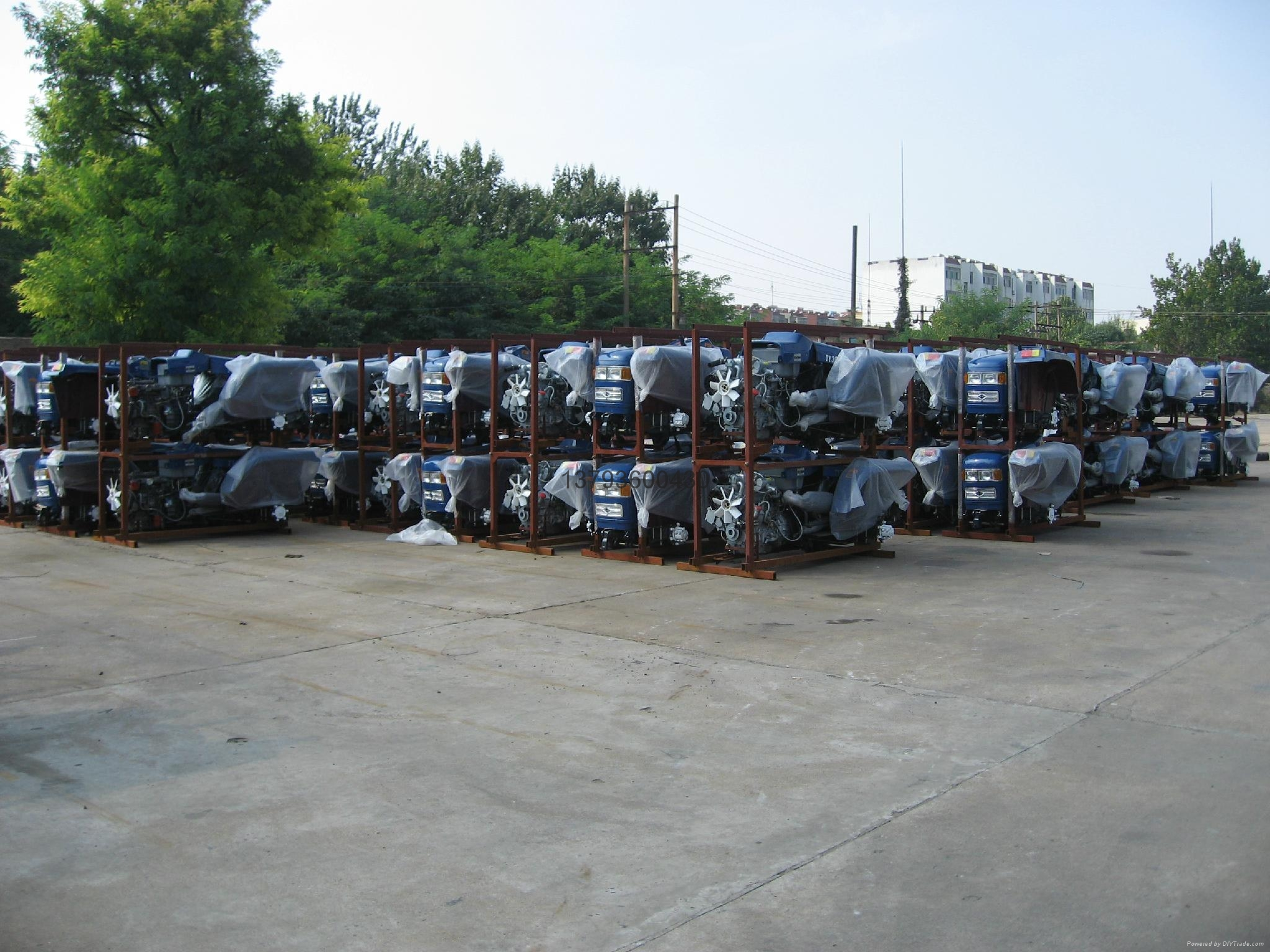 weituo series greenhouse tractor 20-50hp 5