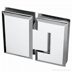 mirror glass door hinge, hinge for heavy door, 90 degree glass door hinge