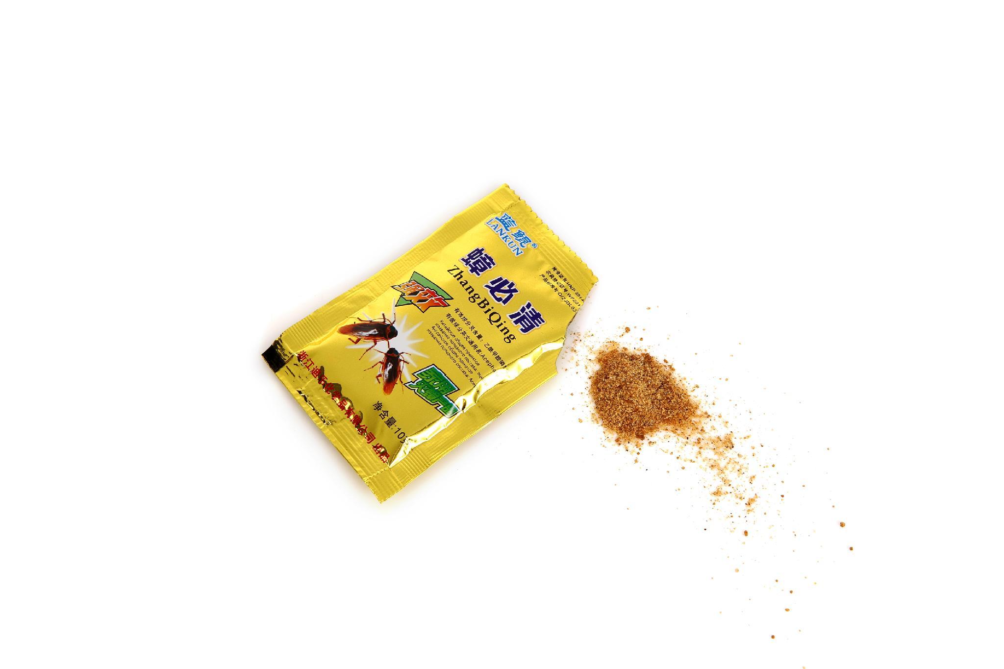 1%Acephate attractant cockroach killing bait powder trap 2