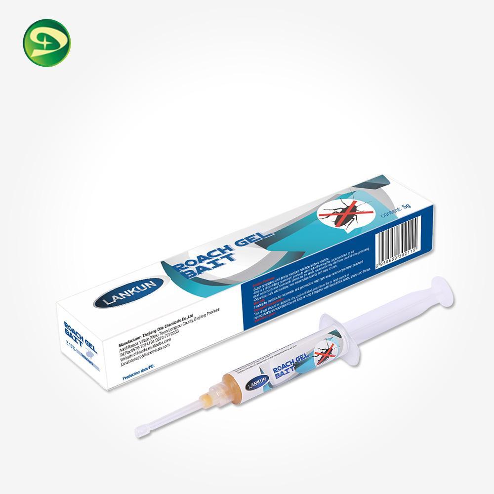 pesticide for 5g household cockroach killing gel bait syringe 4