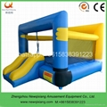 kids jumping castle with slide
