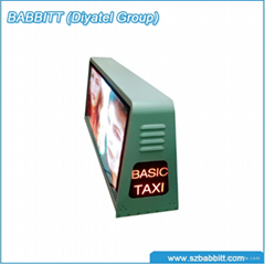Model No. P5 Taxi Top LED Sign (view size 960*320mm)