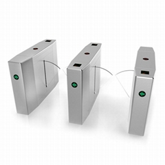 Bi-Direction Automatic Turnstiles Retractable Wing Flap Barrier