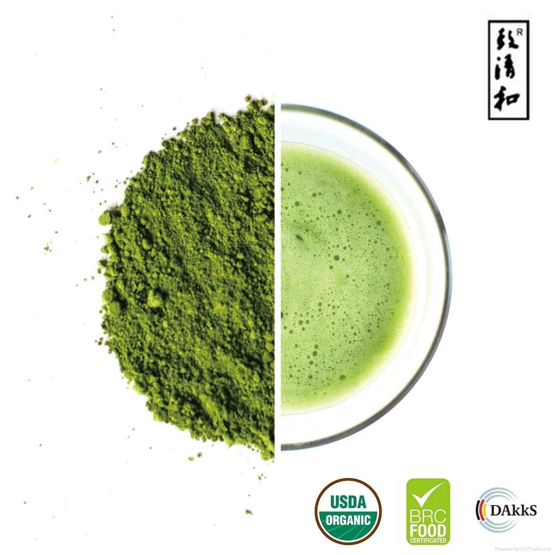 First Grade Organic Japanese Green Tea Powder 1