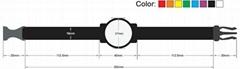 RFID nylon wrist band tag