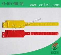 RFID one-time PVC wristband tag