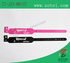 RFID one-time PP paper wristband tag