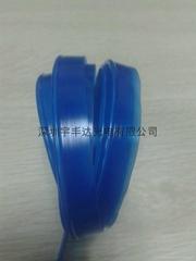 Single line blue