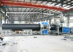 HDPE中空壁纏繞管生產線-纏繞管生產線