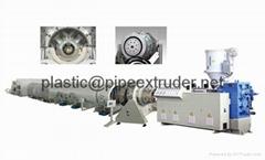 HDPE給水管材生產線-管材生產線