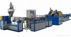 PVC 纖維增強軟管生產線-PVC蛇皮管設備