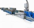 PVC Construction Template Extrusion Line