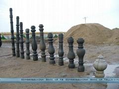 北京水泥花瓶柱