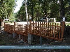 天津水泥艺术围栏
