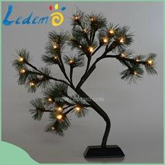Popular decoration 3AA battery mini tree light