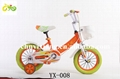 12 16 20inch baby bikes 4 wheels children bicycle with CE certificate 1