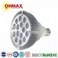 OHMAX 15W E27 Base LED Spot Light Powerful PAR Bulb