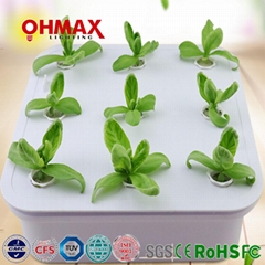 OHMAX 9 Pots Smart Hydroponic Planting Box