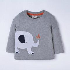 Long sleeve children's wear t-shirts