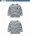 儿童纯棉长袖T恤