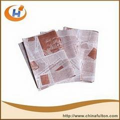 Food Grade Hamburger Wrapping Paper .