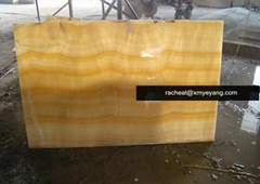 Honey Yellow Onyx Tiles Slabs