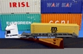 1:50 MSC Diecast Alloy Container Truck