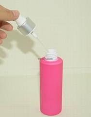 東莞塑料包裝 150ml塑料PET保濕乳液瓶 化妝品包裝
