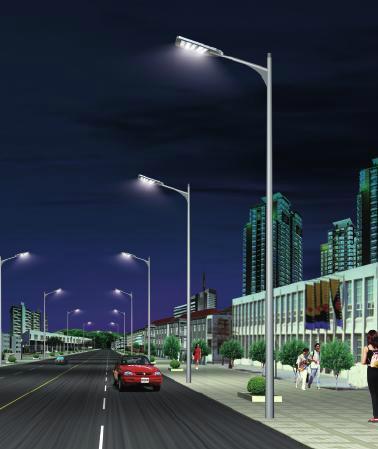 工廠直銷LED路燈 2
