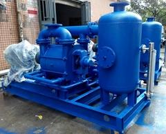 西門子電廠抽冷凝器液環真空泵機組
