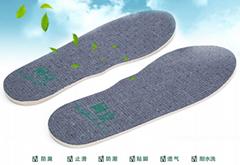 去汗除臭、祛湿快干永久耐水洗多功能品牌保健鞋垫
