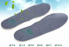 Skidproof,endure for cleaning,deodorizing,moisture-resisting,foot insole