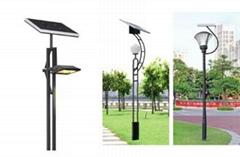 太阳能广场灯