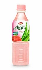 Fruit Juice Aloe Vera Drink With Guava Flavour