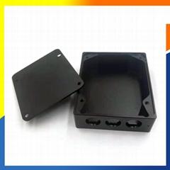 China Powder Black Steel Battery Charger Enclosure Metal Box/Housing
