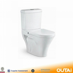 High Quality Ceramic Two Piece Washdown Water Closet Ceramic Toilet