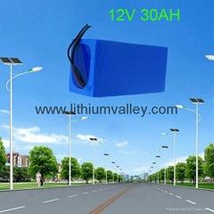 12V 30AH solar street light battery