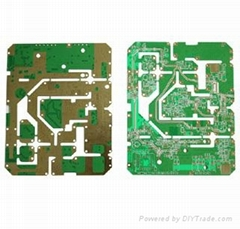 High Speed Design Multi Layers 8 layer Electronic board FR4 metal detector PCB