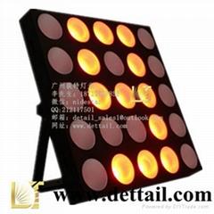 荻特燈光25顆10瓦全彩矩陣燈舞臺燈光廠家直銷