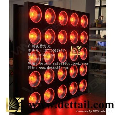 荻特燈光25顆10瓦全彩矩陣燈舞臺燈光廠家直銷 2