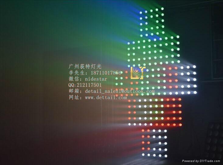 荻特燈光25顆10瓦全彩矩陣燈舞臺燈光廠家直銷 3