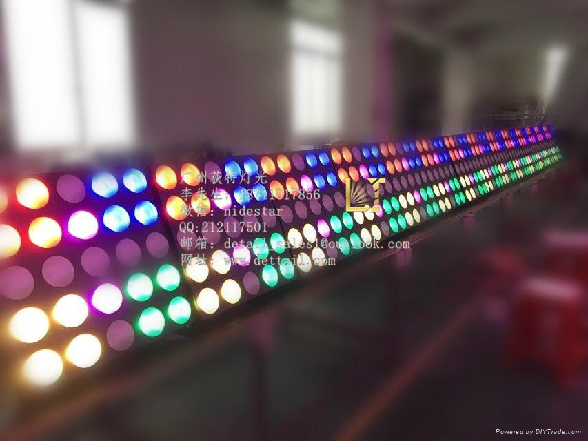 荻特燈光25顆10瓦全彩矩陣燈舞臺燈光廠家直銷 4