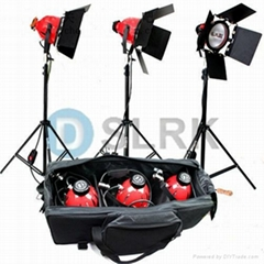 800W Red head Light kit with Dimmer Lighting Kit