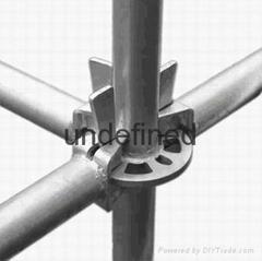 Galvanized  Q345 steel Layher allround ringlock scaffolding