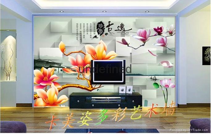 世居宝3D背景墙成快装板 2